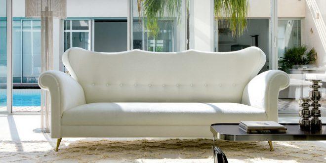 Sofa blanco con estilo hoy lowcost - Sofa con estilo ...