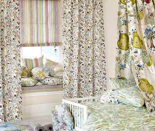 cortinas y estor habitacion infantil