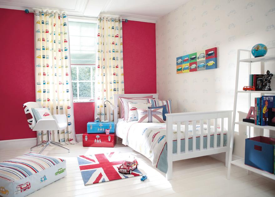 Elige tus estores y cortinas infantiles 2018 hoy lowcost for Ver habitaciones infantiles