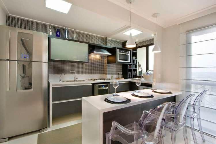 Cocina minimalista peque a hoy lowcost for Imagenes de cocinas minimalistas