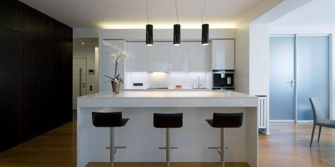 cocina minimalista sencilla - Cocina Minimalista