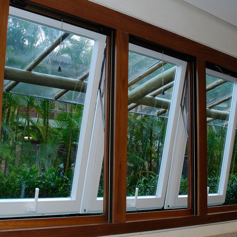 ventanas abatibles madera
