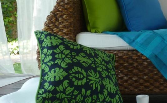 cojines para sofas estampados