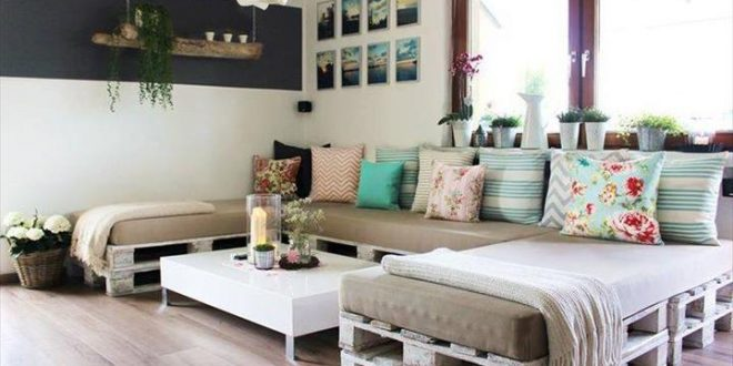 cojines para sofas palets | Hoy LowCost