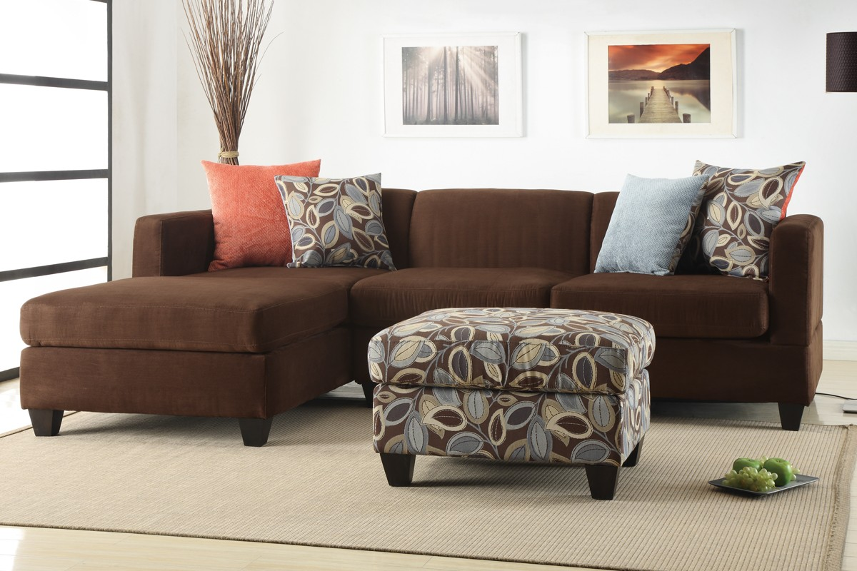 Dark Brown Sofa Cushion Ideas