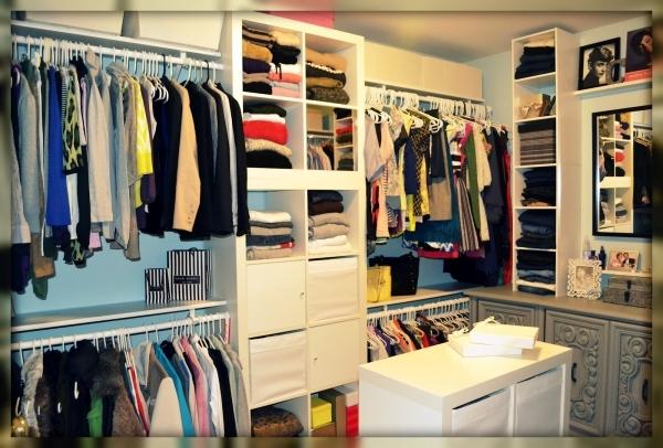 organizacion de vestidor pequeño