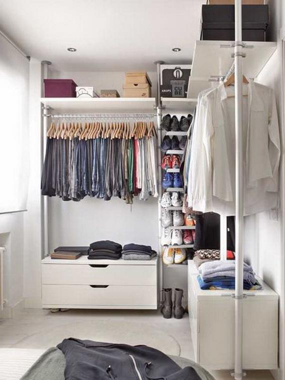 diseño vestidor pequeño