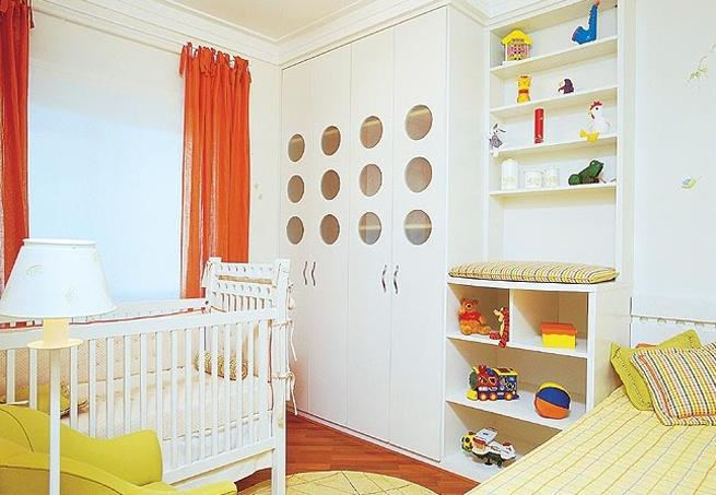decoracion bebes cortinas