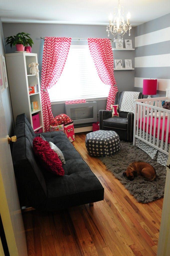 cortinas rojas para bebes