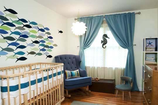 cortinas bebes diseño 2017