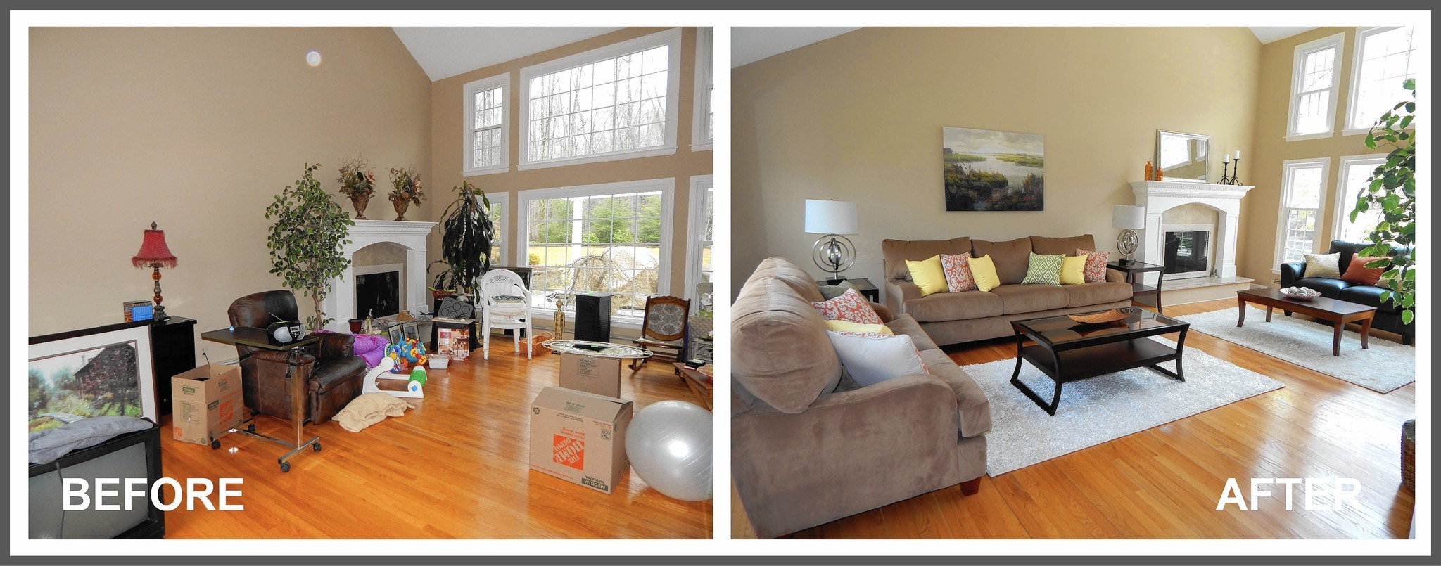 antes y despues home staging