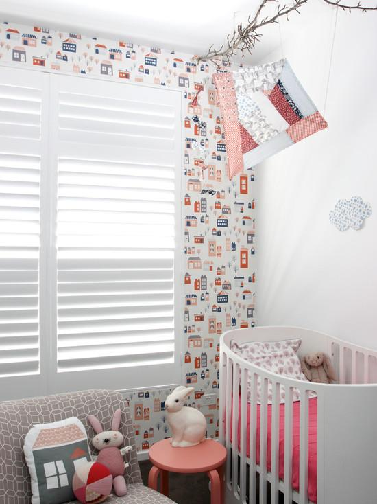 decorar con cortinas bebes