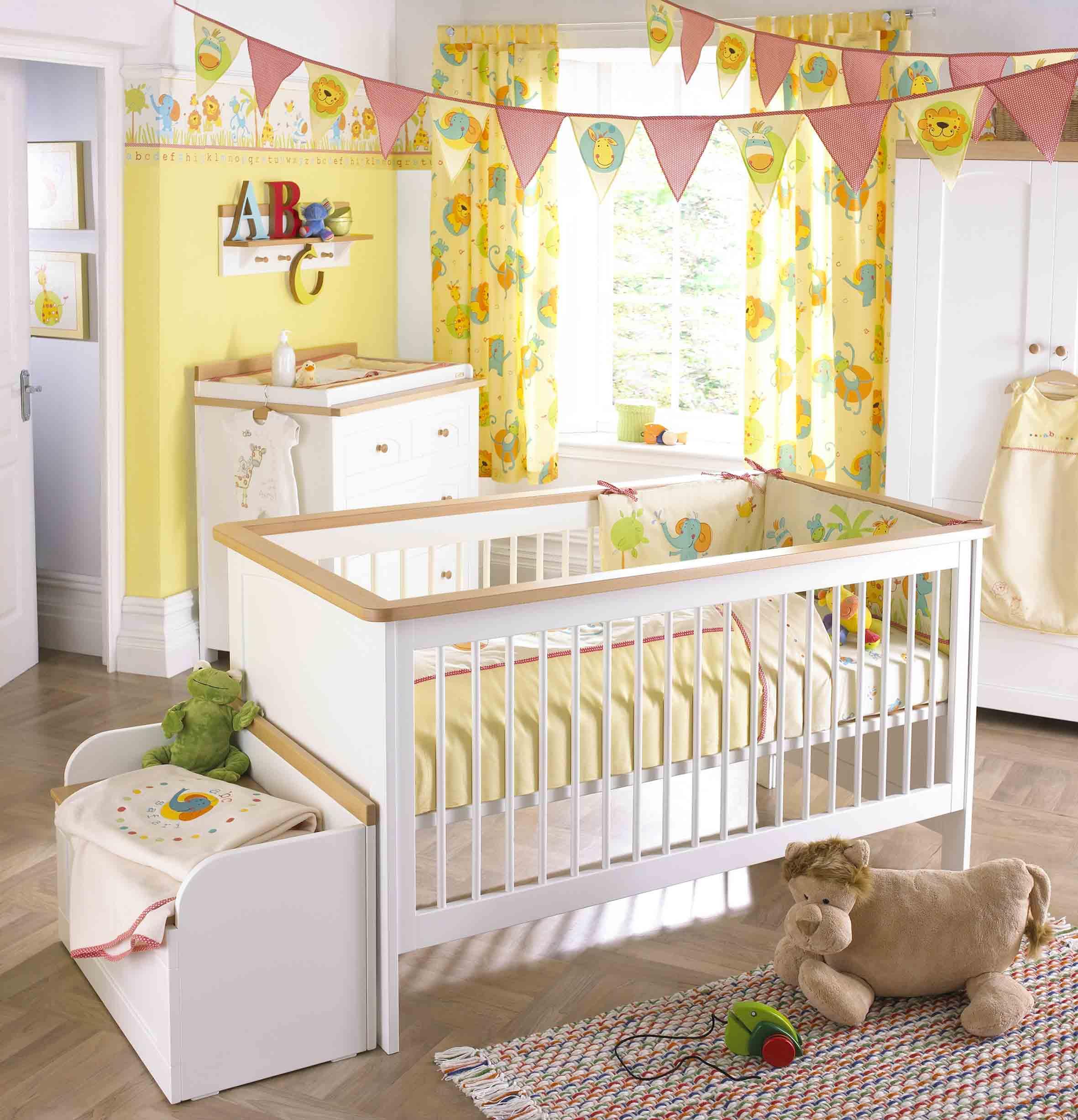 cortina de bebe