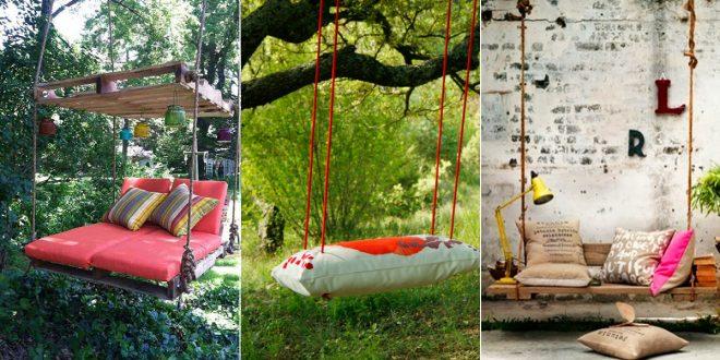 Balancines originales para jardin hoy lowcost for Balancines de jardin