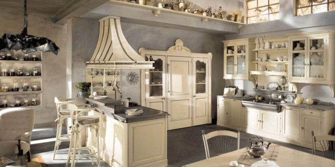 Cocina Rustica Blanca | Cocina Rustica Blanca Hoy Lowcost