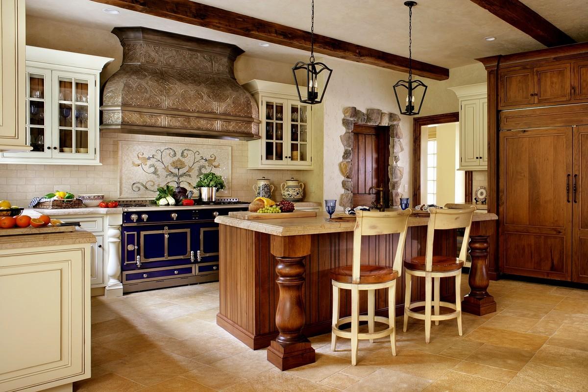 cocina estilo rustico
