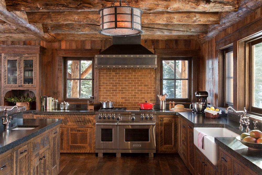 cocina estilo rustico 2017