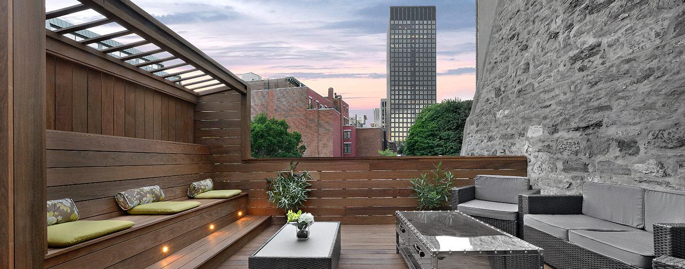 decoracion terraza atico