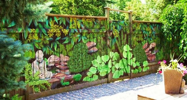 Vallas de jard n originales ideas de 2018 hoy lowcost - Ideas originales jardin ...
