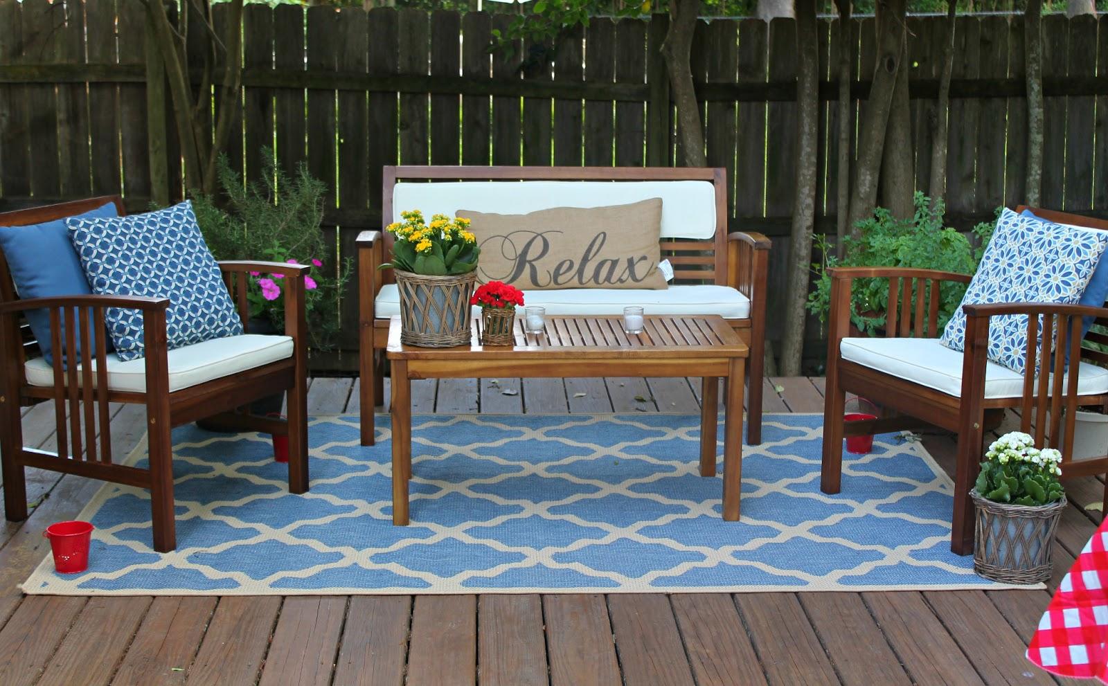 muebles de terraza modernos estilos y tendencias 2018