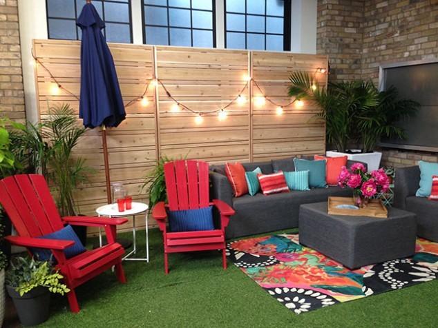 Muebles de terraza modernos estilos y tendencias 2018 for Ideas para decorar un patio exterior pequeno