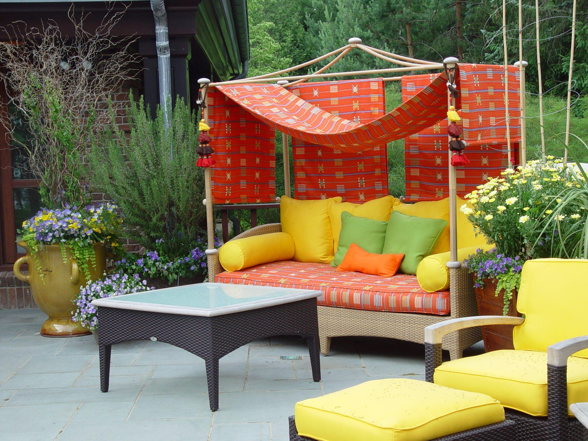 Muebles de terraza modernos estilos y tendencias 2018 for Muebles para porches baratos