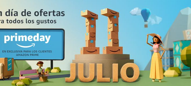 Amazon PrimeDay. El 10 y 11 de julio rebajas online