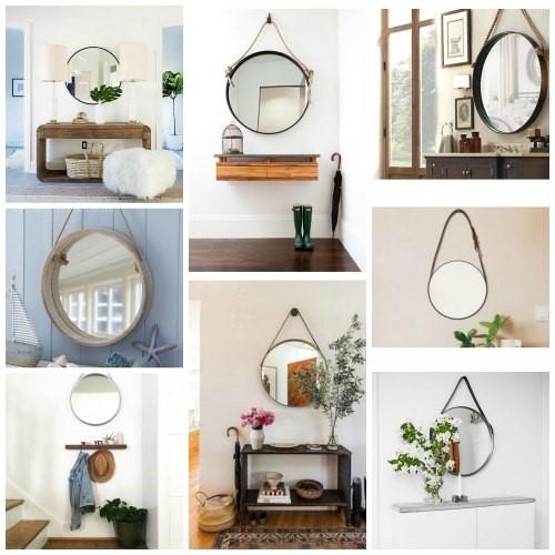 diseño de recibidores con espejo 2017