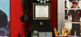 Teléfonos retro para un hogar Art Decó