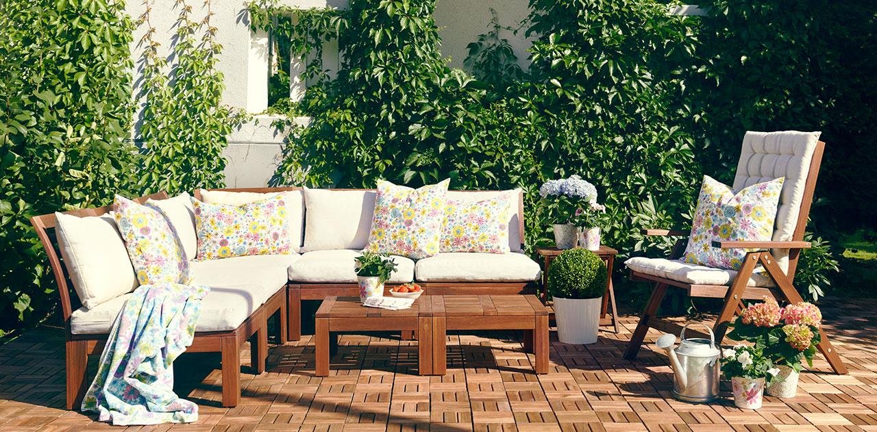 3 ideas para amueblar tu jard n o terraza hoy lowcost for Decoracion jardin ikea