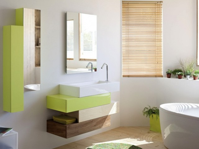 decoracion baño sencillo estilo zen
