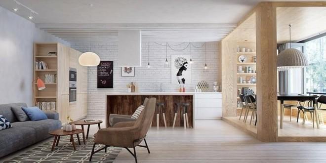 Decoración loft funcional y moderna en pocos metros