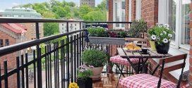 Decoración de terrazas y balcones originales