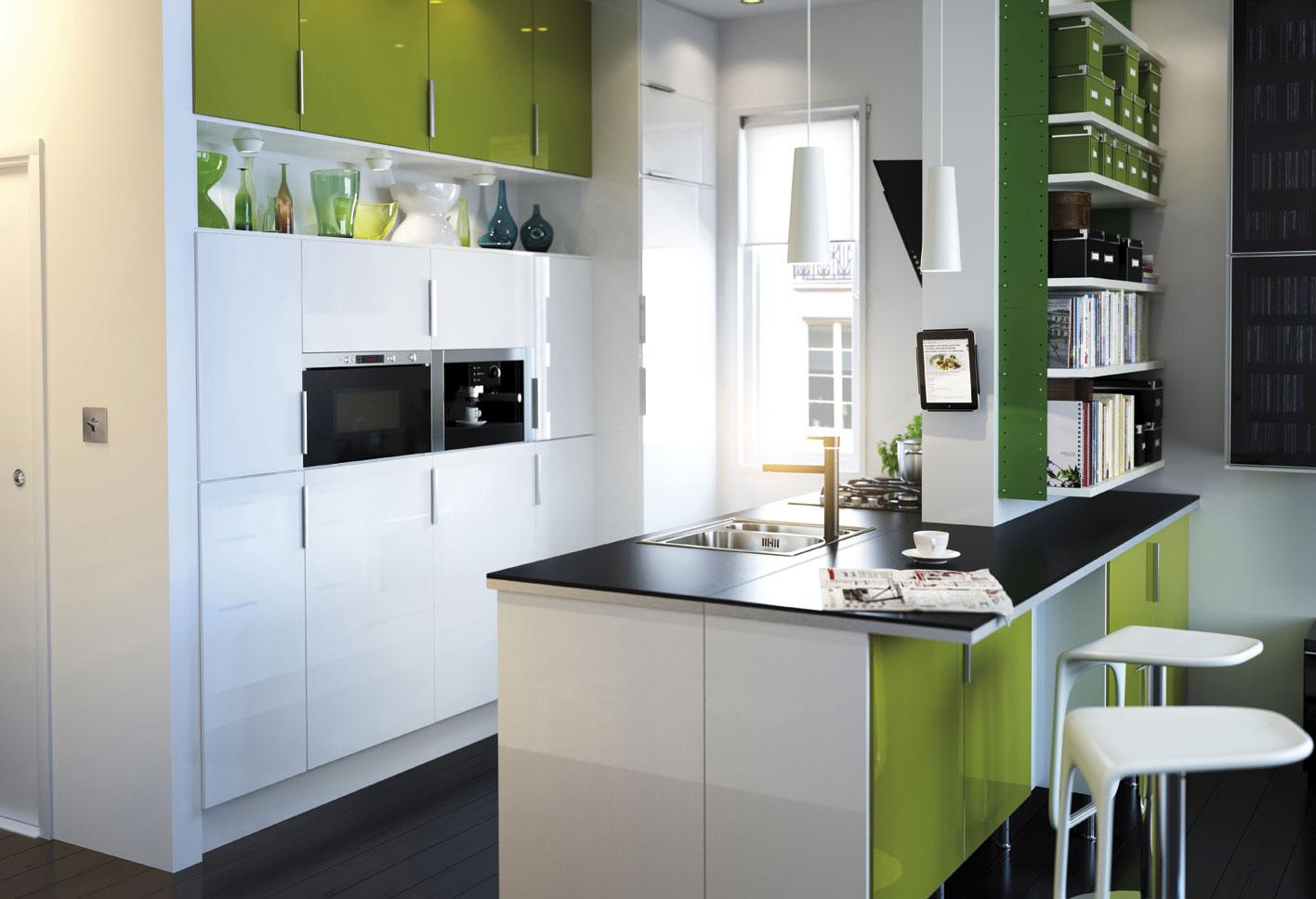 Cocinas Modernas Peque As Estilos Y Dise Os Hoy Lowcost # Muebles Pequenos Para Cocina