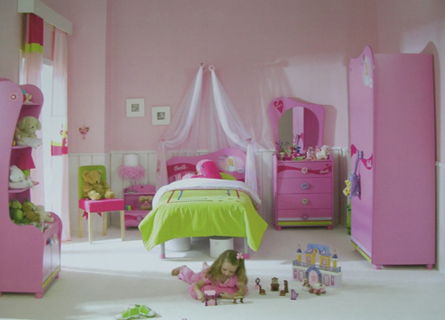 green pink bedroom decorating ideas como decorar el cuarto de una ni 209 a 1001 ideas hoy lowcost 20533
