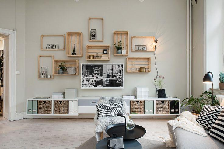 geniales ideas de decoración para sala de estar 13 IDEAS GENIALES DE DECORACIN LOW COST Hoy LowCost