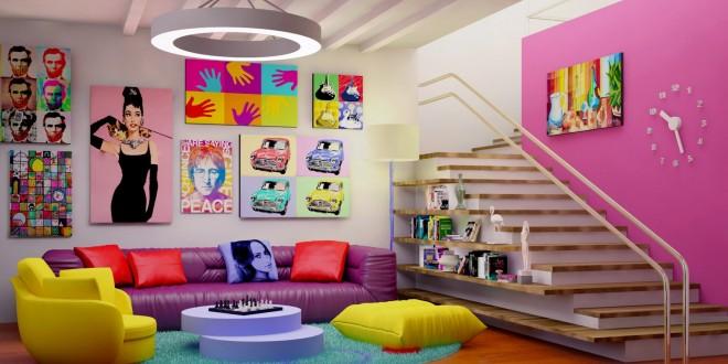 Colores para paredes modernas y actuales