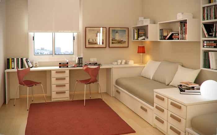decoracion dormitorio juvenil compartido