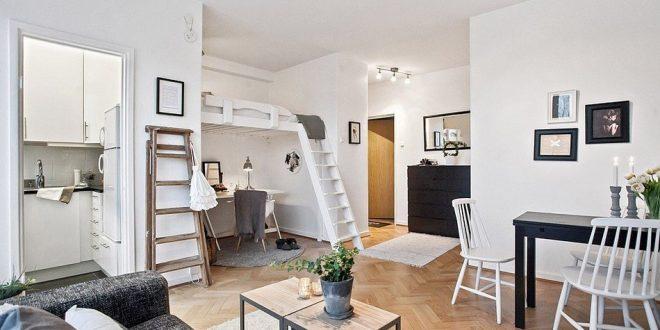 Diseño de interiores pequeños. Lofts