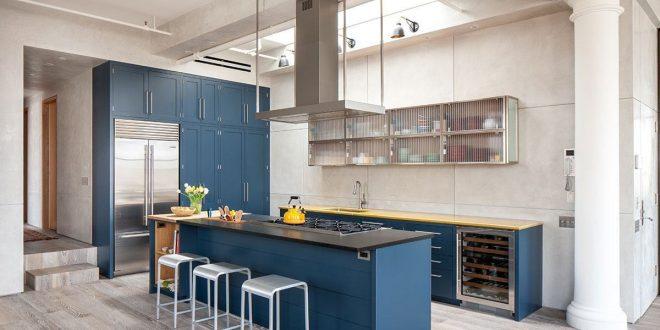Cocinas azules. Decora tu cocina de forma original