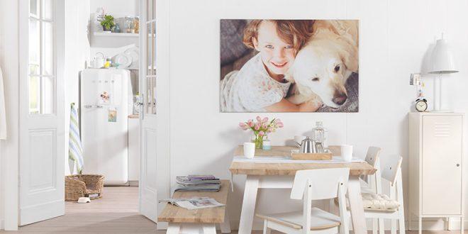 Regala y decora tu casa con fotolienzos